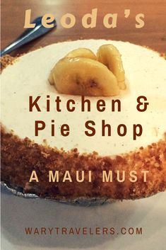 Leona's on Maui is a must. Delicious pies, great sandwiches and more. Hawaii Vacation Tips, Hawaii Destinations, Trip To Maui, Hawaii Honeymoon, Maui Hawaii, Vacation Villas, Dream Vacations, Vacation Spots, Maui Food