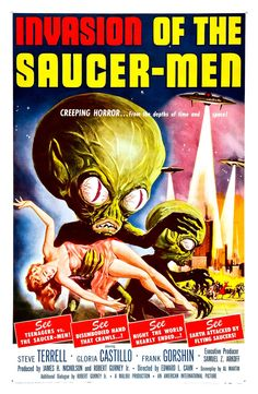 Invasion of the Saucer-Men (1957)