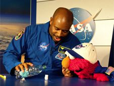 Watch Free Elmo visits NASA videos. Great for little kids showing interest in astronomy!