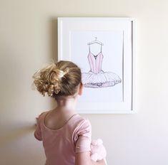 Dress Rehearsal Ballet Print