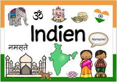 """Ideenreise: Länderplakat """"Indien"""""""