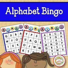 Alphabet Bingo Uppercase Letters by Sweetie's | Teachers Pay Teachers Sight Word Activities, Learning Activities, Bingo Cards, Task Cards, Alphabet Bingo, Kindergarten Blogs, Learn To Spell, Teacher Organization, Learning Letters