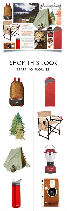 """""""Let's Go Glamping!"""" by ittie-kittie on Polyvore featuring interior, interiors, interior design, home, home decor, interior decorating, Poler, Coleman, Picnic Time and CamelBak"""