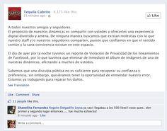 Para los que no creen que los concursos de likes son ilegales en FB. (Gracias, @gardius !)