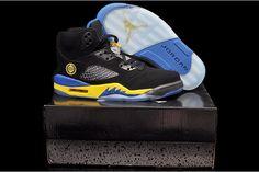 "Retro Air Jordan 5 - ""Shanghai Shen"" Black Laney Basketball Shoe"