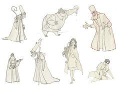 "Borja Montoro Character Design: Character Design for The SPA Studio's ""The Three Wise Men"""