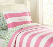 Shop girls duvet covers that will show off your daughter's personality. Find girls duvet cover at Pottery Barn Kids in fun prints and colors that she will love. Boy And Girl Shared Bedroom, Shared Bedrooms, Big Girl Rooms, Girls Bedroom, Kid Rooms, Bedroom Ideas, Girls Duvet Covers, Green Duvet Covers, Pink Bedspread