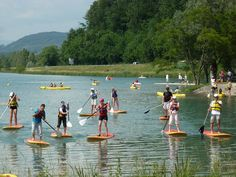 Paddle © CCBS Rhone, Paddle, Golf Courses, Sports, Rowing, Hs Sports, Sport
