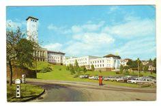 Newport Gwent, Floral Clock, Gantry Crane, Swansea, Photo Postcards, Somerset, Old Photos, Wales, 1960s