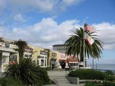 Shopping in Monterey. My 2 favorite things, the beach & shopping:-)