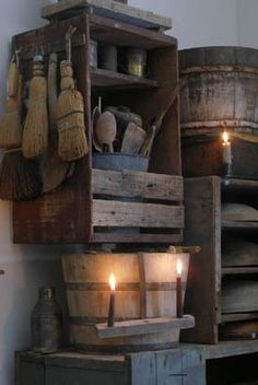 Wonderful Absolutely Free Primitive Kitchen furniture Ideas Your home is recognized as the very center entrance, as well as a place cooking area is recognized for the fri. Primitive Country Homes, Primitive Kitchen, Primitive Antiques, Primitive Crafts, Primitive Gatherings, Primitive Christmas, Vintage Farmhouse Decor, Country Farmhouse Decor, Primitive Furniture