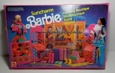 VTG-BARBIE-1990-SUNCHARM-CLOTHING-BOUTIQUE-PLAYSET-8778-EUROPEAN-NEW-IN-BOX-MIB