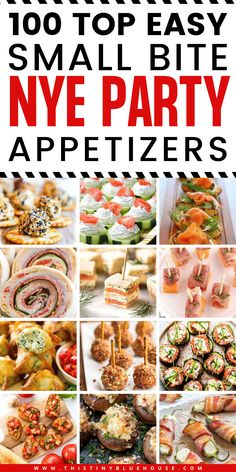 New Years Appetizers, Holiday Appetizers, Appetizer Recipes, Holiday Recipes, Snack Recipes, Cooking Recipes, Appetizer Ideas, Party Appetizers, Easy Bite Size Appetizers