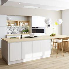 Decoration Inspiration, Scandinavian Interior, Kitchen Decor, Kitchen Ideas, Schmidt, Building A House, Sweet Home, New Homes, Interior Design