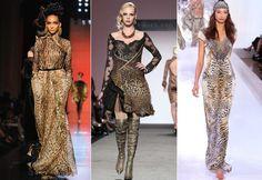 Jean Paul Gaultier 2013, Curiel Couture Alta Moda 2013 e David Jones S?S 2013 (Foto: Getty Images)