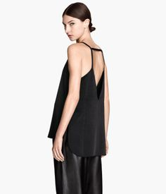 Product Detail | H&M CA I think that this top could look great with bright coloured or sparkly treggings.
