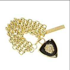 *Donated* Luxe Lioness Bracelet Fierce gold & black, fit for a lioness[: Shoedazzle Jewelry Bracelets