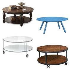 Round & Round: Never-Crooked Coffee Tables