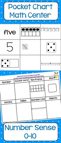 This pack includes 11 complete math and reading centers your kiddos will love! Spanish version to come soon!
