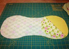 Designs by Jessie: Burp Cloth Tutorial