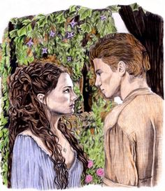 Padme and Anakin in Color by khinson.deviantart.com on @deviantART