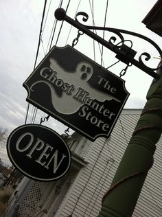 It's the original ghost hunting equipment, paranormal, religious and spiritual shop!