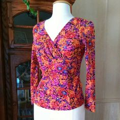 Madison Studio Very colorful blouse. Ready for Spring/Summer. Stretch material. Madison Studio Tops Blouses