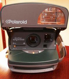 "Polaroid, OneStep eXpress, hunter green, 1997 aka ""The Frog""."