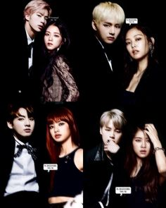 FIERCE BLACKBANGTAN🔥💣 — sorry guys that yall had to wait long for my updates😣 the jinsoo edit was done a while ago but i decided to make a… Bts Girlfriends, Photo Arrangement, Kpop Couples, Album Bts, Blackpink And Bts, Bts Imagine, Important People, Bts Boys, Collages