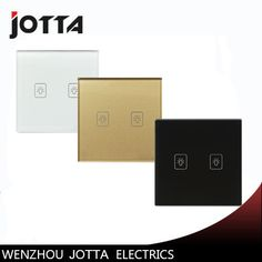 2 Gang 2Way Touch Switch Screen Crystal Glass Panel Switches UK Wall Light Switch For LED lamp Gold/Black/White