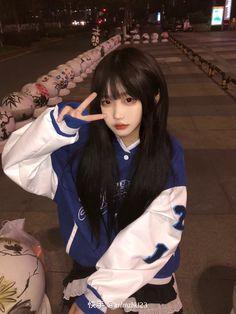 Korean Girl Fashion, Aesthetic Girl, Albums, Cute, Wallpapers, Girls, Toddler Girls, Daughters, Kawaii