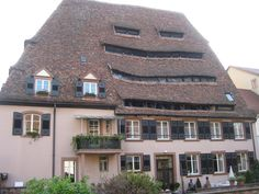 Maison de Sel, Wissembourg, France Places Ive Been, Germany, France, Spaces, House Styles, Home Decor, Salt, Home, Nice Asses