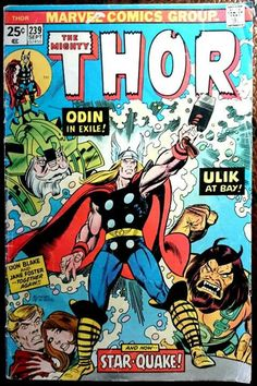 Marvel Comic Books, Marvel Characters, Comic Books Art, Comic Art, Vintage Comic Books, Vintage Comics, Jack Kirby, Beste Comics, Comic Manga