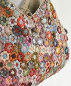 Sophie Digard crochet - Freesias Bag