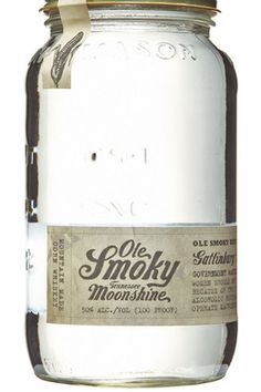 Ole Smoky Tennessee Moonshine packaging