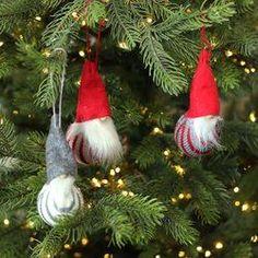 The Holiday Aisle Decorative Santa Gnome Christmas Ornaments Hanging Figurine Set Gnome Ornaments, Christmas Ornament Sets, Christmas Gnome, Kids Christmas, Christmas Decorations, Christmas Garden, Christmas Goodies, Rustic Christmas, Merry Christmas