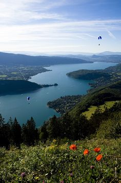 Lac d'Annecy - Col de la Forclaz. Haute Savoie/France