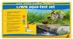 Mit dem sera aqua-test set lassen sich die für das Süß- und Meerwasser wichtigen Parameter – wie pH-Wert und Karbonathärte (KH) – bestimmen. Foto: © sera