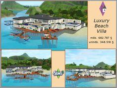 Luxuriöse Villa für eine Promifamilie ***** Luxurious Villa for a celebrity family  by Thamira  https://www.allaboutsims.net/forum/index.php/Thread/15565-Luxury-Beach-Villa/?postID=76756#post76756