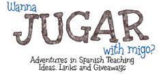 Spanish blog - great ideas