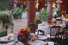 Outdoor Tropical Reception Decor in Mexico | photography by http://www.brandonkidd.net/
