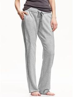 Women's Terry-Fleece Lounge Pants | Old Navy