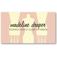 Trendy Crafts Sewing Fashion Business Card Templates. This great ...