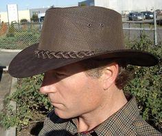 Kanga Cooler hat - Brown Outback Survival Gear