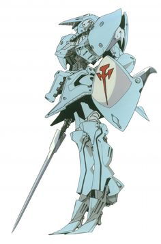 One of the 'Mortar Headds' from the anime/manga series 'Five Star Stories'