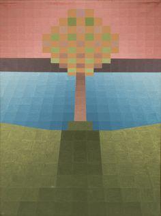 Ryszard Lech, 034-61x46 ,plotno,  Ryszard Lech - malarstwo pikselowe w Qadrat Art Gallery http://artimperium.pl/wiadomosci/pokaz/77,ryszard-lech-malarstwo-pikselowe-w-qadrat-art-gallery#.UnWwbflWySo