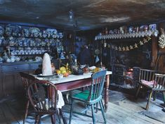 "Christmas at the Dennis Severs' house in Spitalfields, London. The house is a time capsule of 18th and 19th century London life and was once described by David Hockney as ""one of the world's greatest works of opera""."