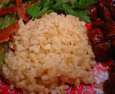 Baked Brown Rice. Photo by Sue Lau