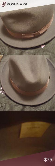 Wool Fedora Hat Wool Felt Fedora Hat for good & bad hair days.  NWOT Accessories Hats