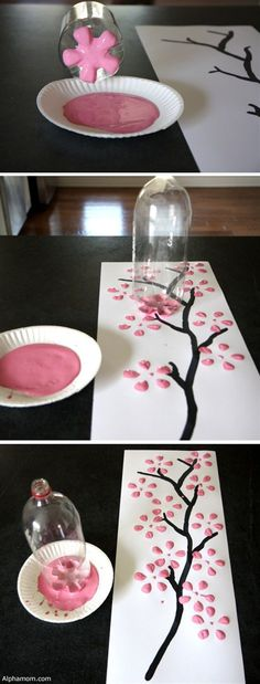 You don't have to spend hundreds of dollars to get unique art for your home. I - DIY Selber Machen - Handwerk Diy Craft Projects, Kids Crafts, Easy Diy Crafts, Crafts To Do, Projects For Kids, Decor Crafts, Diy For Kids, Arts And Crafts, Project Ideas
